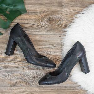Tahari Elroy black heels